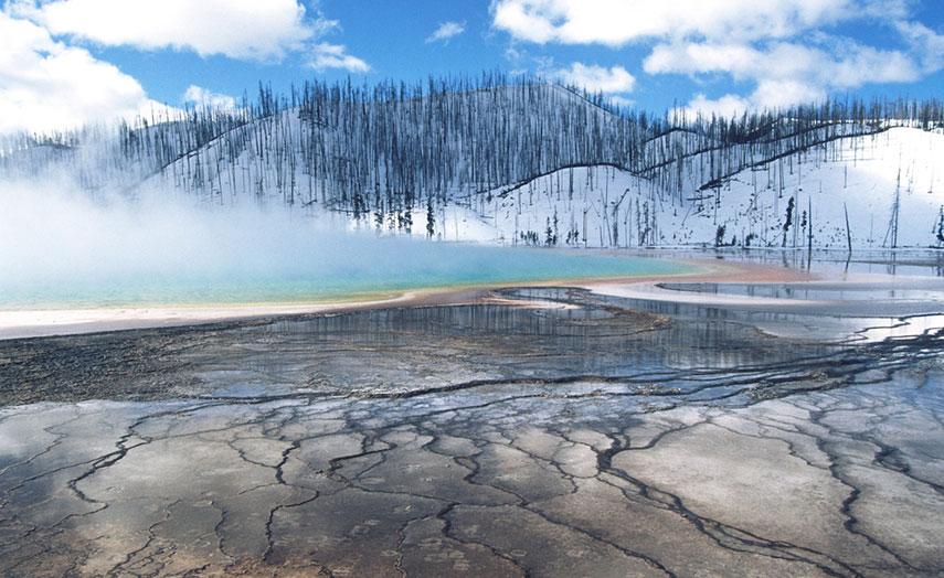 Beste Reisezeit Yellowstone Park