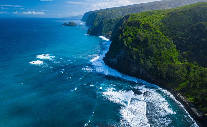 Big Island Hawaii Aerial