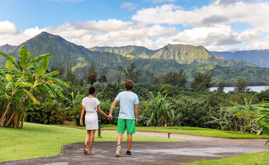 Flitterwochen auf Kauai Hawaii