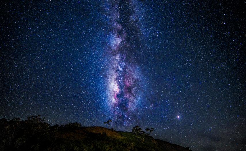 Mauna Kea Berg Hawaii Sterne